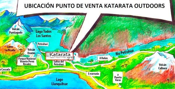 Mapa ubicación Katarata Grill